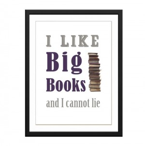 I like Big Books canvas art