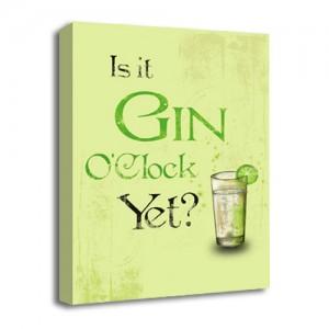 Gin O'Clock canvas art