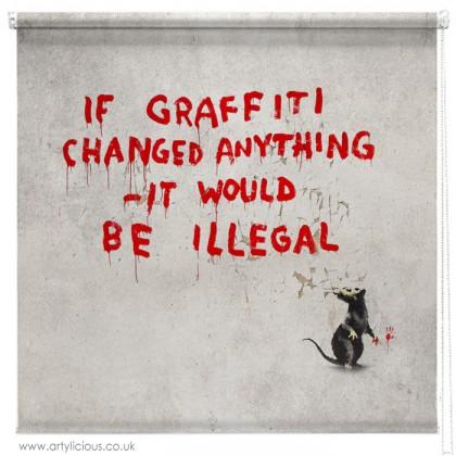 Banksy if graffiti changed blind