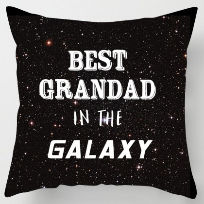 Best Grandad in the Galaxy fathers day cushion