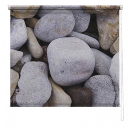 Large Pebbles printed blind