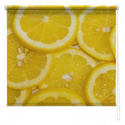 Lemons printed blind