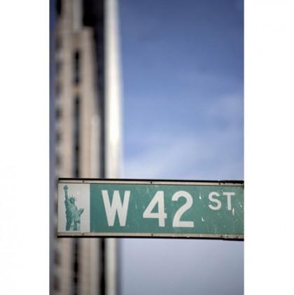 42nd street canvas art