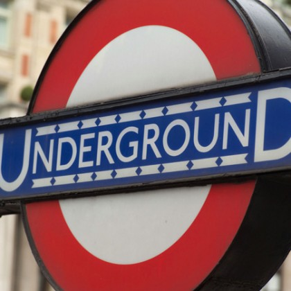 london underground canvas art