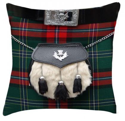 Tartan Sporran cushion