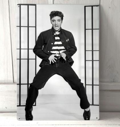 Elvis Presley Jail House Rock Vintage Sign
