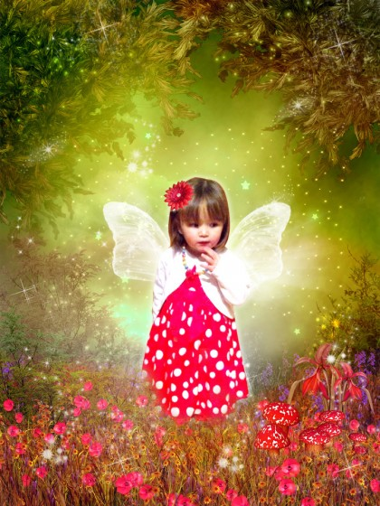 'Forest Fairy' fairytale photo art