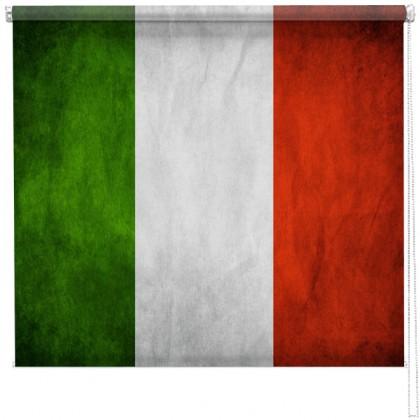 Italian flag Printed Blind