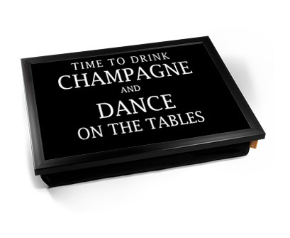 Drink Champagne Laptray