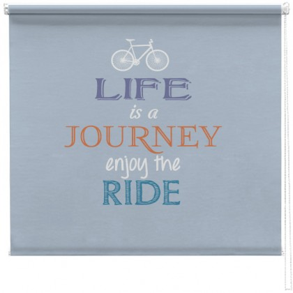 Life is a journey quote blind