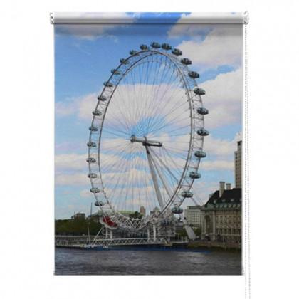 London eye printed blind
