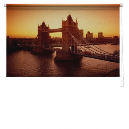 London bridge 2 printed blind