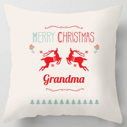 Merry Christmas Grandma cushion