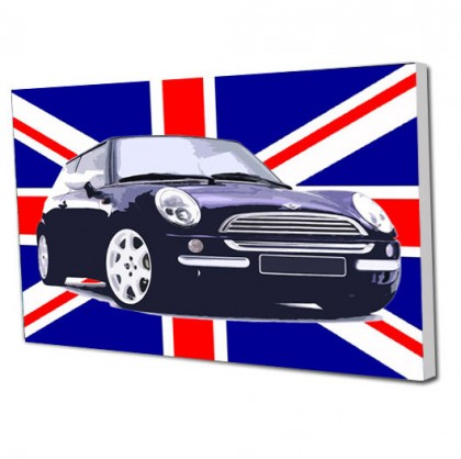 Union Jack Mini canvas art