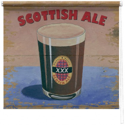 Scottish Ale printed blind martin wiscombe