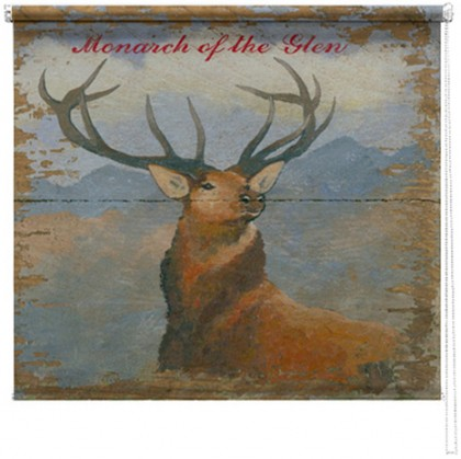Stag printed blind martin wiscombe