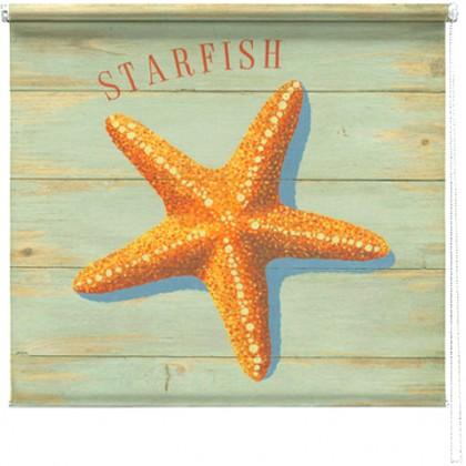 Starfish printed blind martin wiscombe