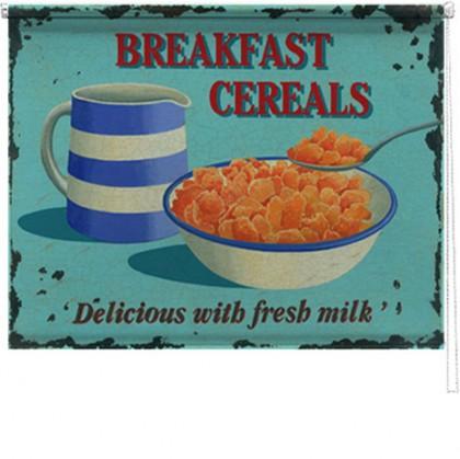 Breakfast Cereals printed blind martin wiscombe