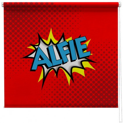 Comic style Personalised childrens blind