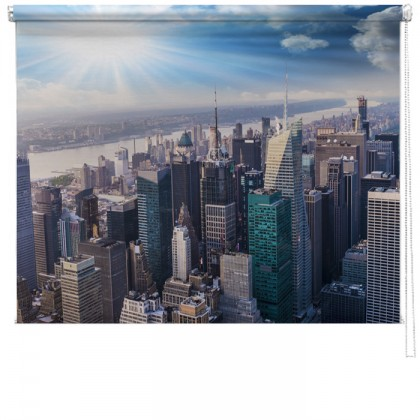 New York Skyline printed blind