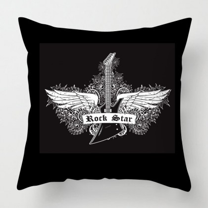 Rock star cushion