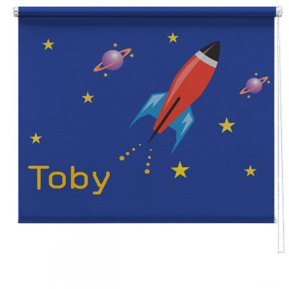 Rocket printed childrens blind