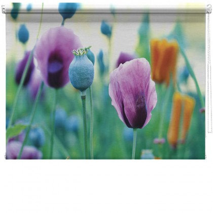 Spring Flowers printed blind