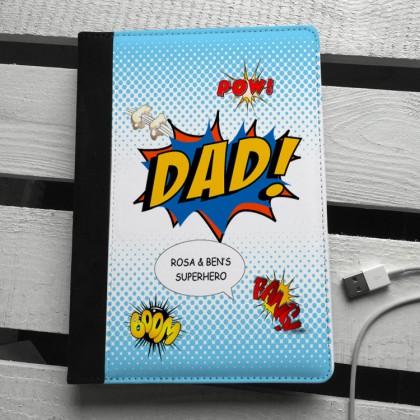 Dad comic name personalised ipad mini case