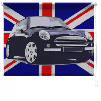 Union Jack mini printed blind