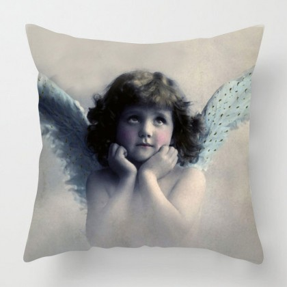 Vintage Angel cushion