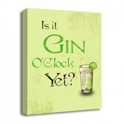 Gin O'Clock canvas art