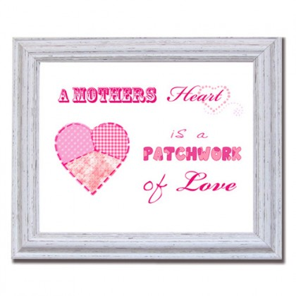 A Mothers heart canvas art print