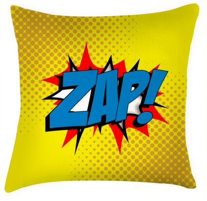 ZAP comic style cushion