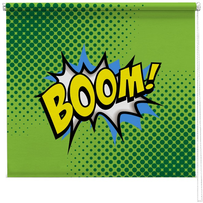 Boom Comic Printed Blind Picture Printed Blinds At