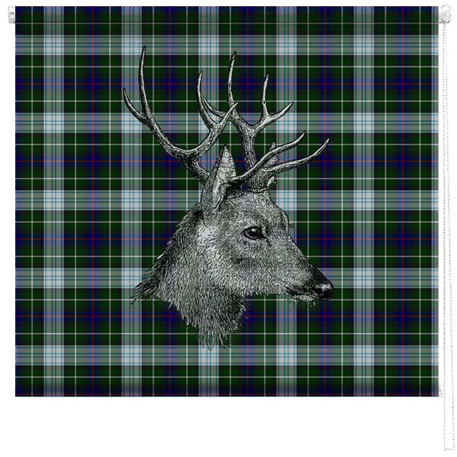 Tartan Stag Printed Blind Picture Printed Blinds At