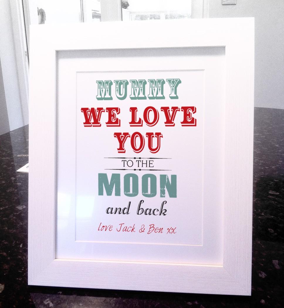 I Love You Mummy Photo Frame - Frame Design & Reviews ✓